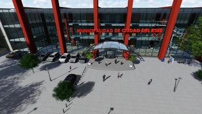 Proyectan construir un edificio municipal inclusivo en CDE