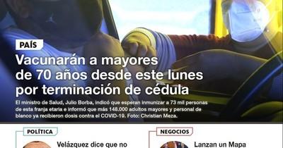 La Nación / LN PM: Las noticias más relevantes de la siesta del 7 de mayo