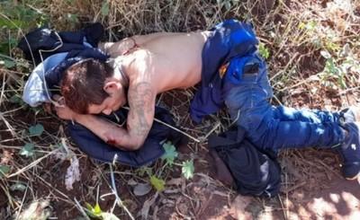 Exconvicto es hallado en un camino vecinal con dos heridas de bala