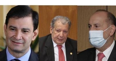 La Nación / Tres senadores colorados buscan presidir el Senado