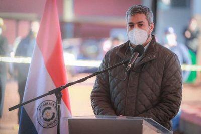 Mario Abdo dice que impuesto a la soja 'no está en la agenda' del Gobierno