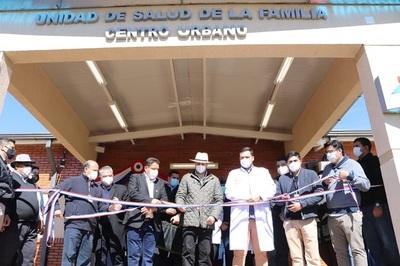 Inauguran Unidad de Salud de la Familia en Raúl Peña