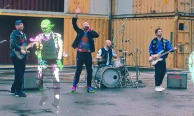 Coldplay estrenó su nueva canción desde el espacio