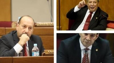 Tres senadores de Añetete buscan presidir el Congreso