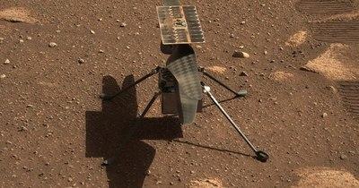 La Nación / Así suena el helicóptero volando en Marte