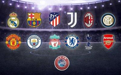 Los nueve clubes arrepentidos de la Superliga europea tendrán sanciones