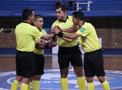Árbitros designados para la fecha inaugural de la Liga Premium de Futsal FIFA
