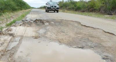 Por desvíos en obra de reconstrucción instan a tener cuidado al transitar camino a Pozo Colorado