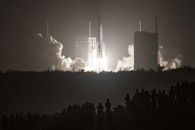 El día en que las partes de un cohete chino cayeron en Paraguay