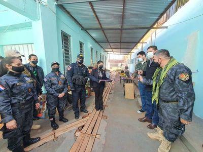 Ministra de Justicia inaugura mejoras en penal de Pedro Juan Caballero