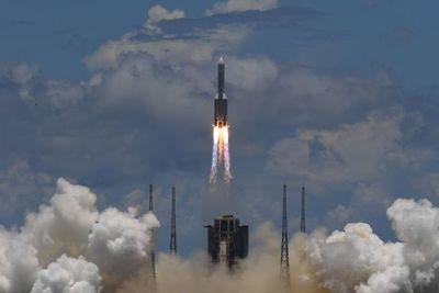 Los restos del cohete chino se vieron hoy en Paraguay