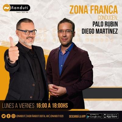 Zona Franca con Palo Rubin y Diego Martínez