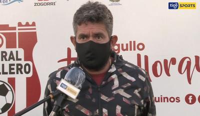 Humberto Ovelar, DT de General Caballero JLM