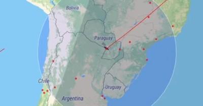La Nación / Cohete chino voló sobre Paraguay