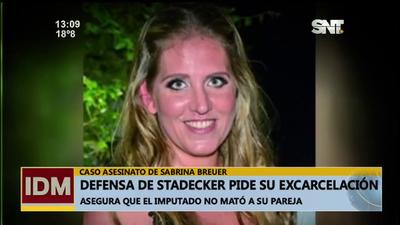 Defensa de Stadecker pide su excarcelación