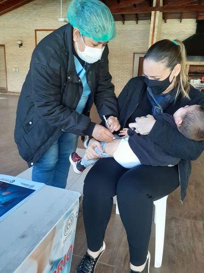 Central tienen 23 puestos de vacunación contra la influenza