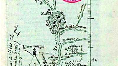 Concepción, antes de la llegada del gobernador Pinedo