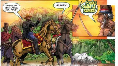 Coloridos  cómics relatan   eventos destacados  de la historia nacional