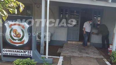 MILLONARIO HURTO EN ESTABLECIMIENTO DE SAN COSME.
