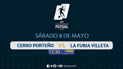 Cerro Porteño y La Furia Villeta dan inicio a la Liga Premium