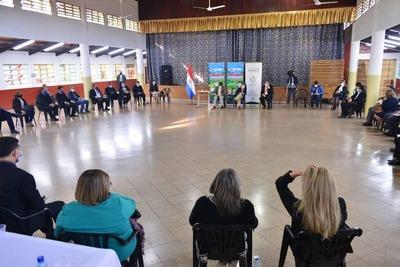 El departamento de Alto Paraná se suma al proceso de transformación educativa