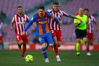 Atlético empató con Barcelona y continúa liderando en España