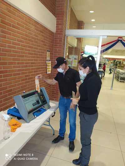 Divulgación masiva de la Máquina de Votación en sitios de carácter público