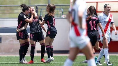 Jessica Martínez anotó en la goleada del Real Madrid