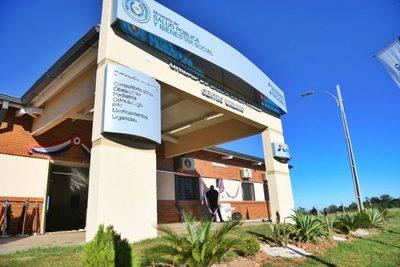 Con una inversión de G. 1.500 millones, inauguran USF en Raúl Peña