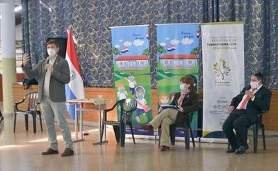 Alto Paraná se adhiere al proceso de transformación educativa