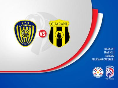 Apertura: Luque y Guaraní se enfrentan hoy en el Feliciano Cáceres