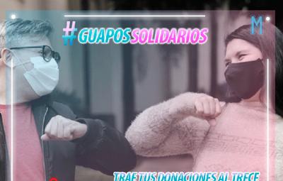 """""""Guapos Solidarios"""": campaña busca ayudar a familias de internados por Covid-19"""