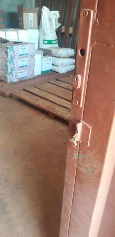 Hurtan agroquímicos por valor de US$ 7.000 en Mbaracayú