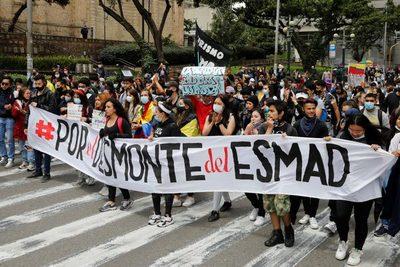 Las calles de Colombia claman de nuevo contra la violencia policial