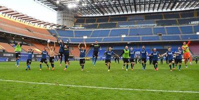 El Inter festeja su 'Scudetto' con goleada sobre la Sampdoria