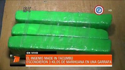 Esconden marihuana en una garita en la cárcel de Tacumbú