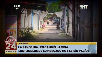 Alberdi: Una ciudad devastada por la pandemia y olvidada por el Estado.