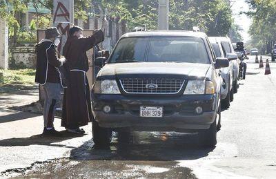 Piden manejo responsable en bendición de vehículos