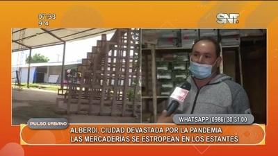 Alberdi, ciudad devastada tras pandemia