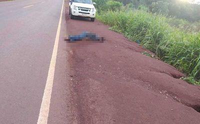 Hallan cadáver al costado de la ruta PY07 en Santa Fe del Paraná