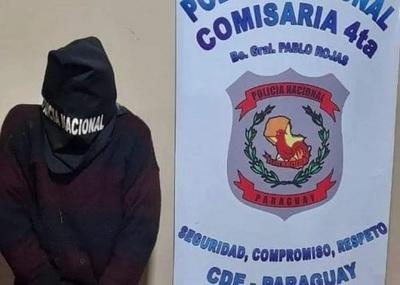 Detienen a sospechoso de un asesinato en CDE