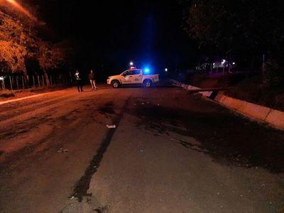 En choque frontal entre motociclistas, un joven fallece y otros cuatros resultan heridos