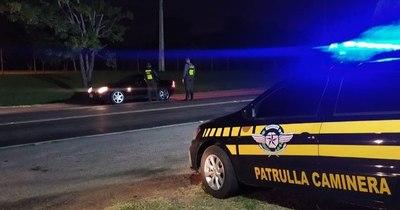 La Nación / Caminera demoró 443 vehículos en la semana por infracciones