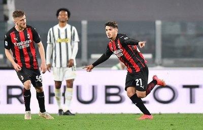 Milan triunfa, se mete a zona de Champions y saca a la Juventus
