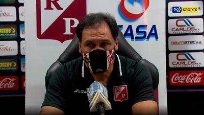 Conferencia de prensa de Celso Ayala