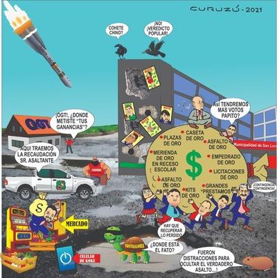 Mbeguemi online: Asaltos, robos y cagadas