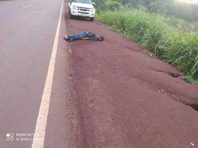 Hallan cadáver de un hombre tirado al costado de la Ruta PY07