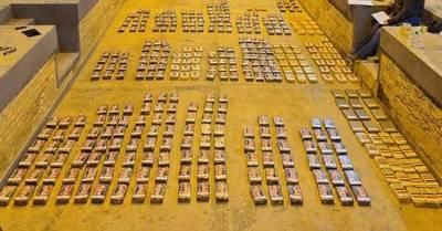 Interceptan más de 400 kilos de marihuana en el Chaco