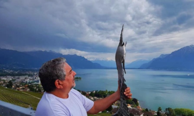 Adiós al escultor Sebastián Guggiari Banks
