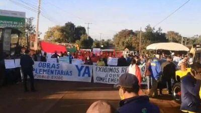Segundo puente con Brasil retrasa obras complementarias